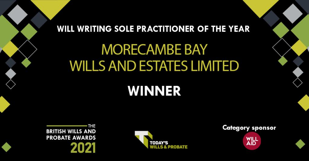 British Wills and Probate Awards 2021 Winner